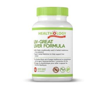 Healthology Liv-Great Liver Formula 60 caps