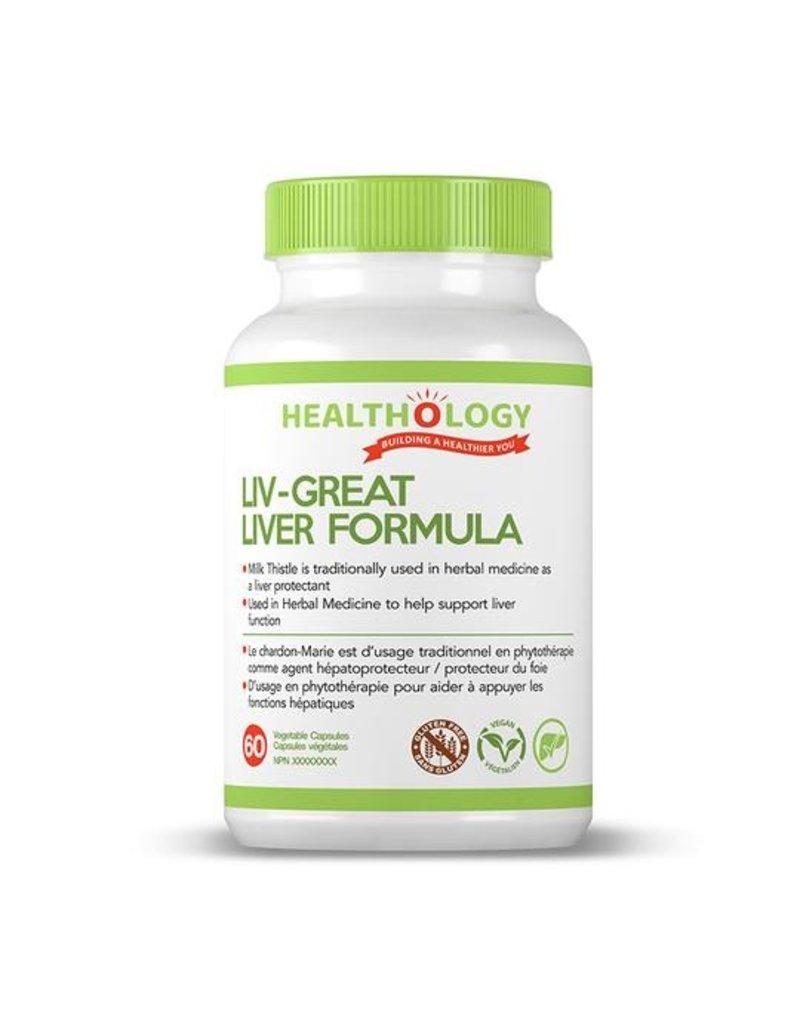 Healthology Healthology Liv-Great Liver Formula 60 caps