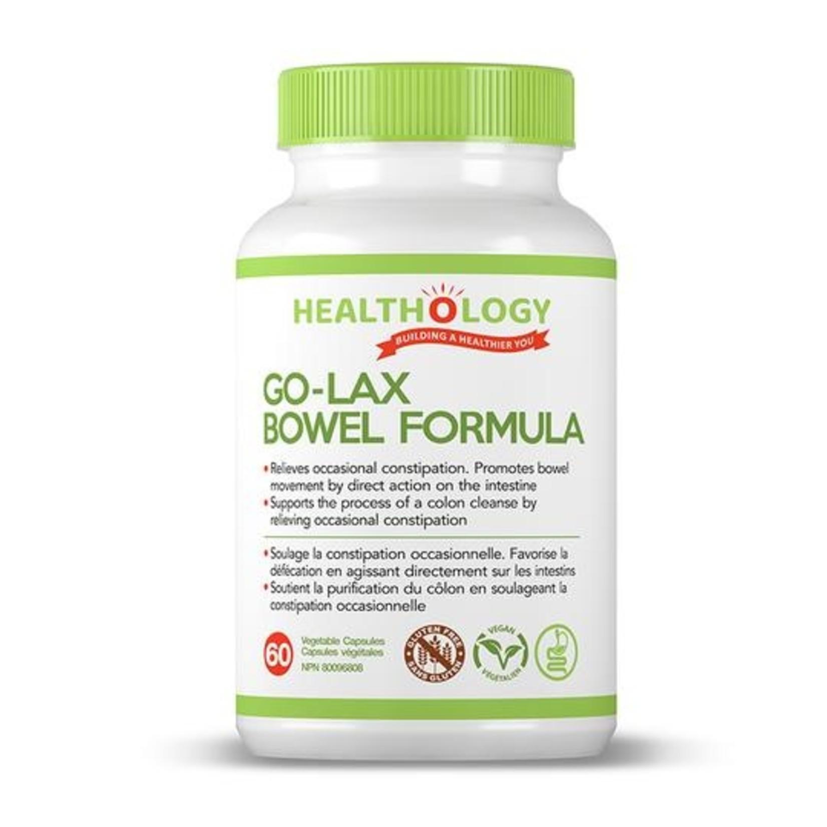 Healthology Healthology Go-Lax Bowel Formula 60 caps