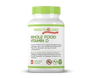 Healthology Whole Food Vitamin D 60 caps