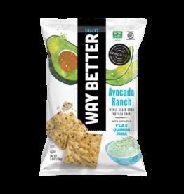 Way Better Way Better - Avocado Ranch Tortilla Chips 156g