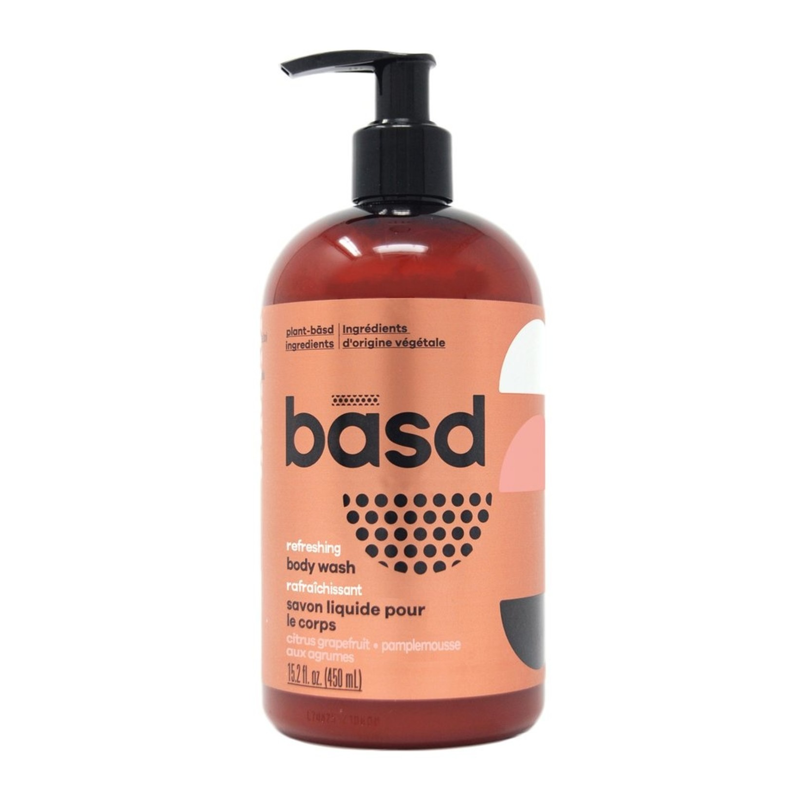 Basd Basd Refreshing Citrus Grapefruit Body Wash 450ml