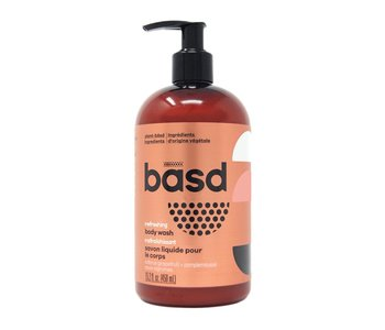 Basd Refreshing Citrus Grapefruit Body Wash 450ml