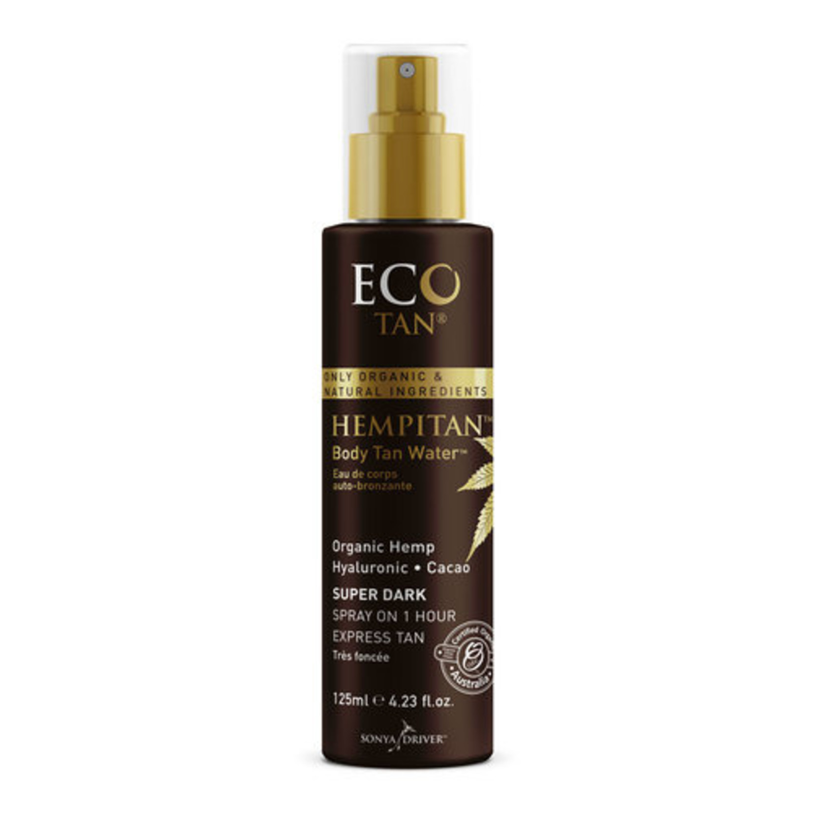 Eco Tan Hempitan Body Tan Water 125ml