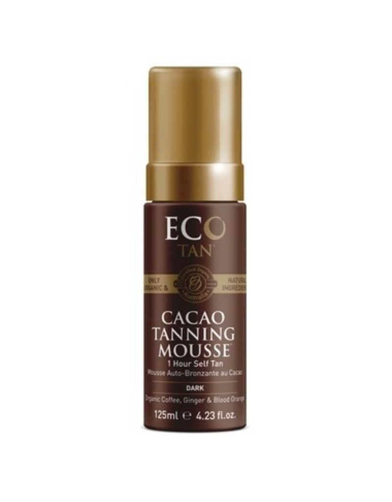Eco Tan Cacao Tanning Mousse - Dark 125ml