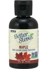 NOW NOW Better Stevia Maple 59ml