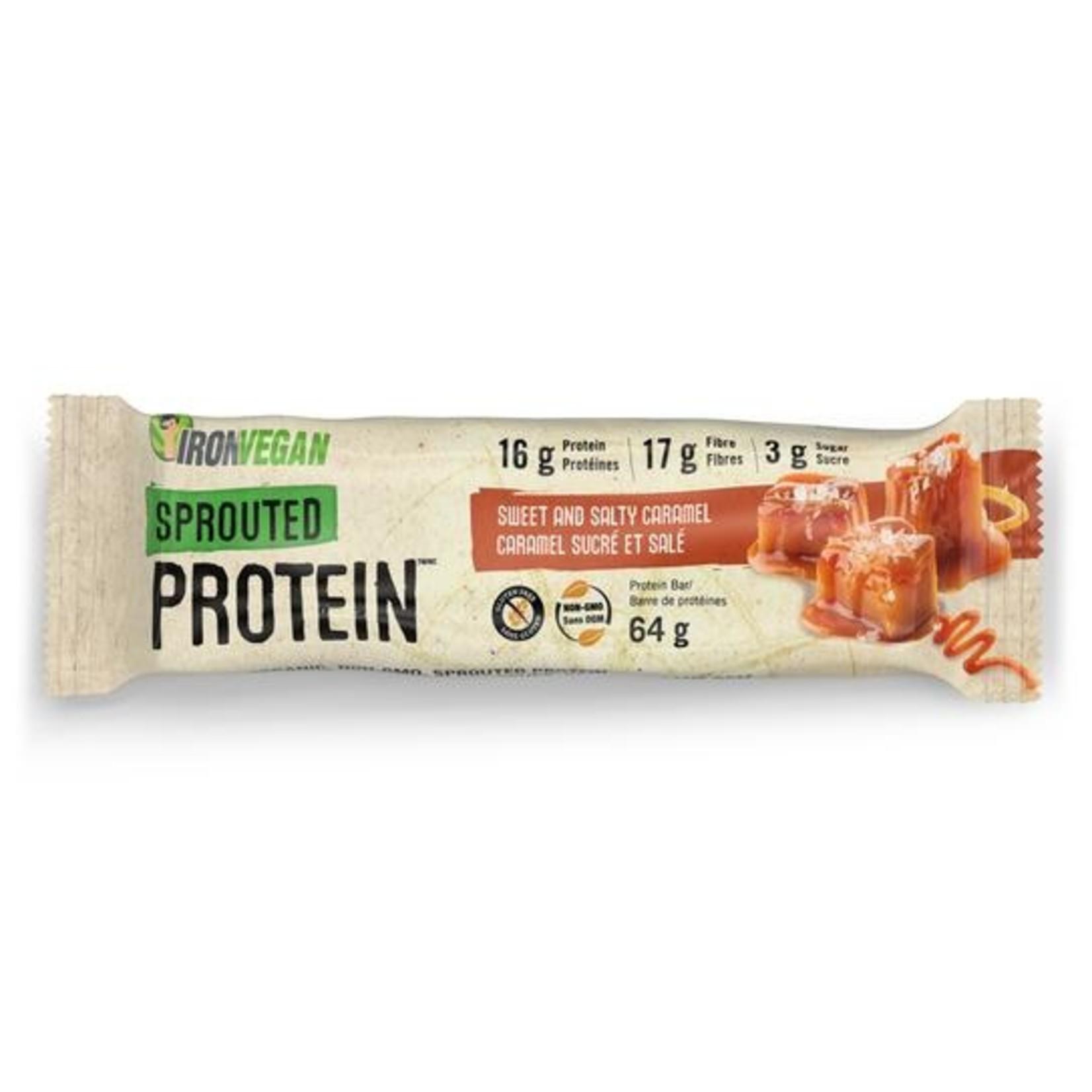 Iron Vegan Iron Vegan Protein Bar Sweet and Salty Caramel