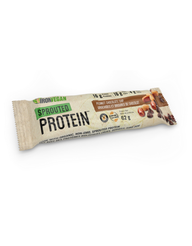 Iron Vegan Iron Vegan Protein Bar - Peanut Chocolate Chip