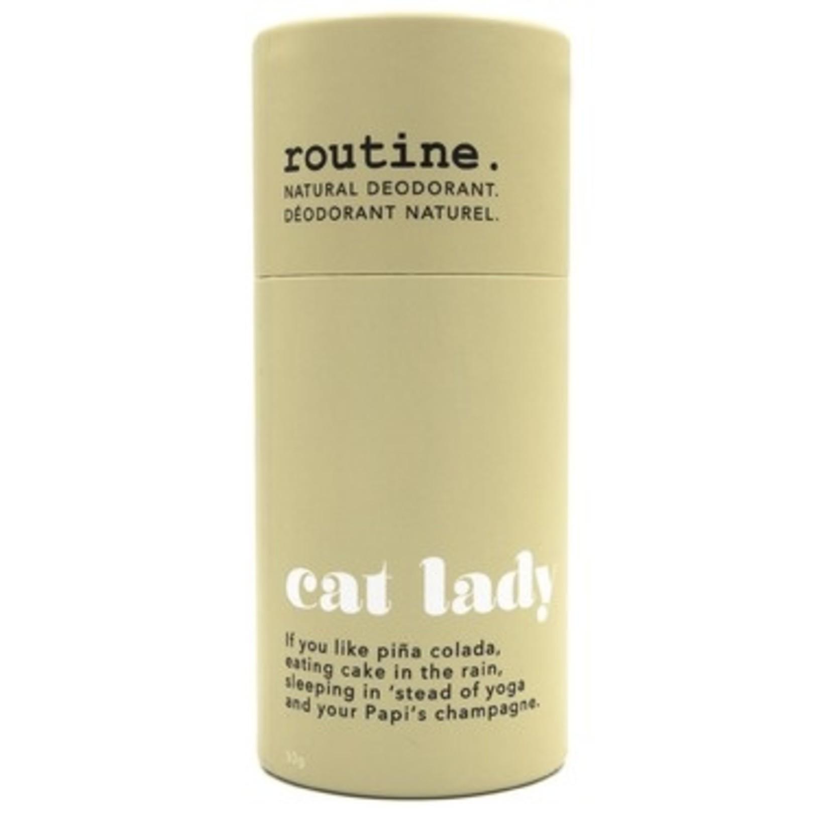 Routine Routine Cat Lady Deodorant Stick 50g