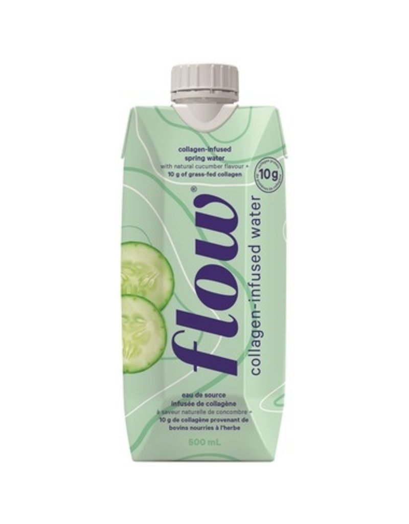 Flow Collagen Infused Water Natural Cucumber 500ml
