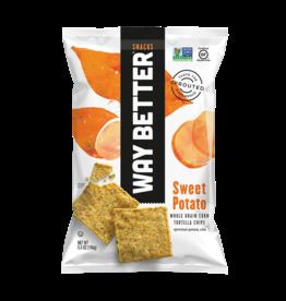 Way Better Way Better - Sweet Potato Whole Grain Tortilla Chips 156g