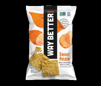 Way Better - Sweet Potato Whole Grain Tortilla Chips 156g