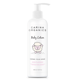 Carina Organics Baby Lotion Unscented 250ml