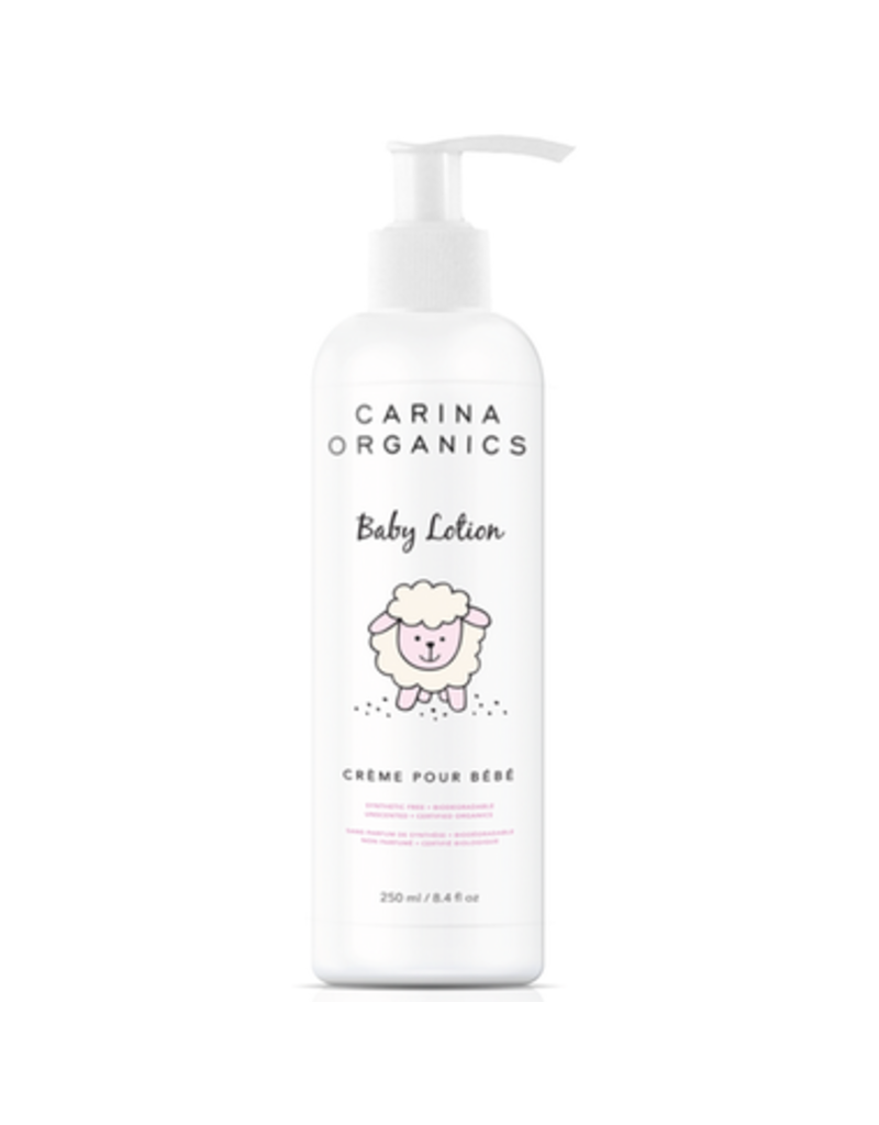 Carina Organics Baby Lotion Unscented 250ml