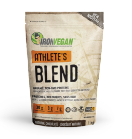 Iron Vegan Athlete's Blend Natural Chocolate 1kg