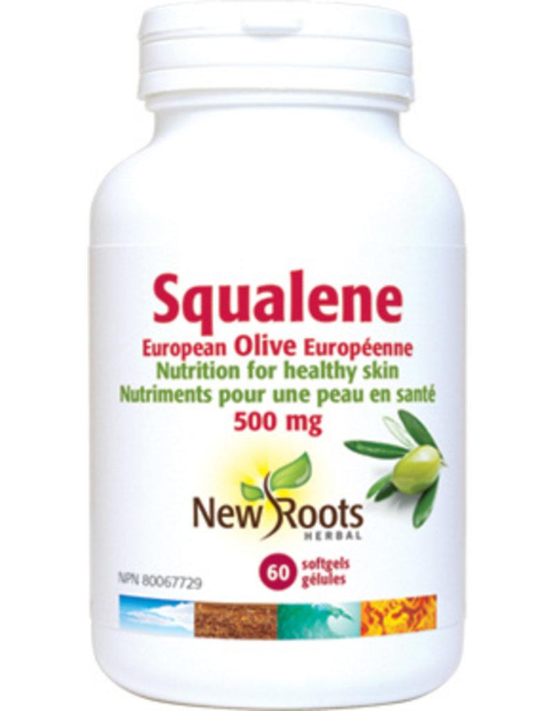New Roots Squalene 500mg 60 softgels