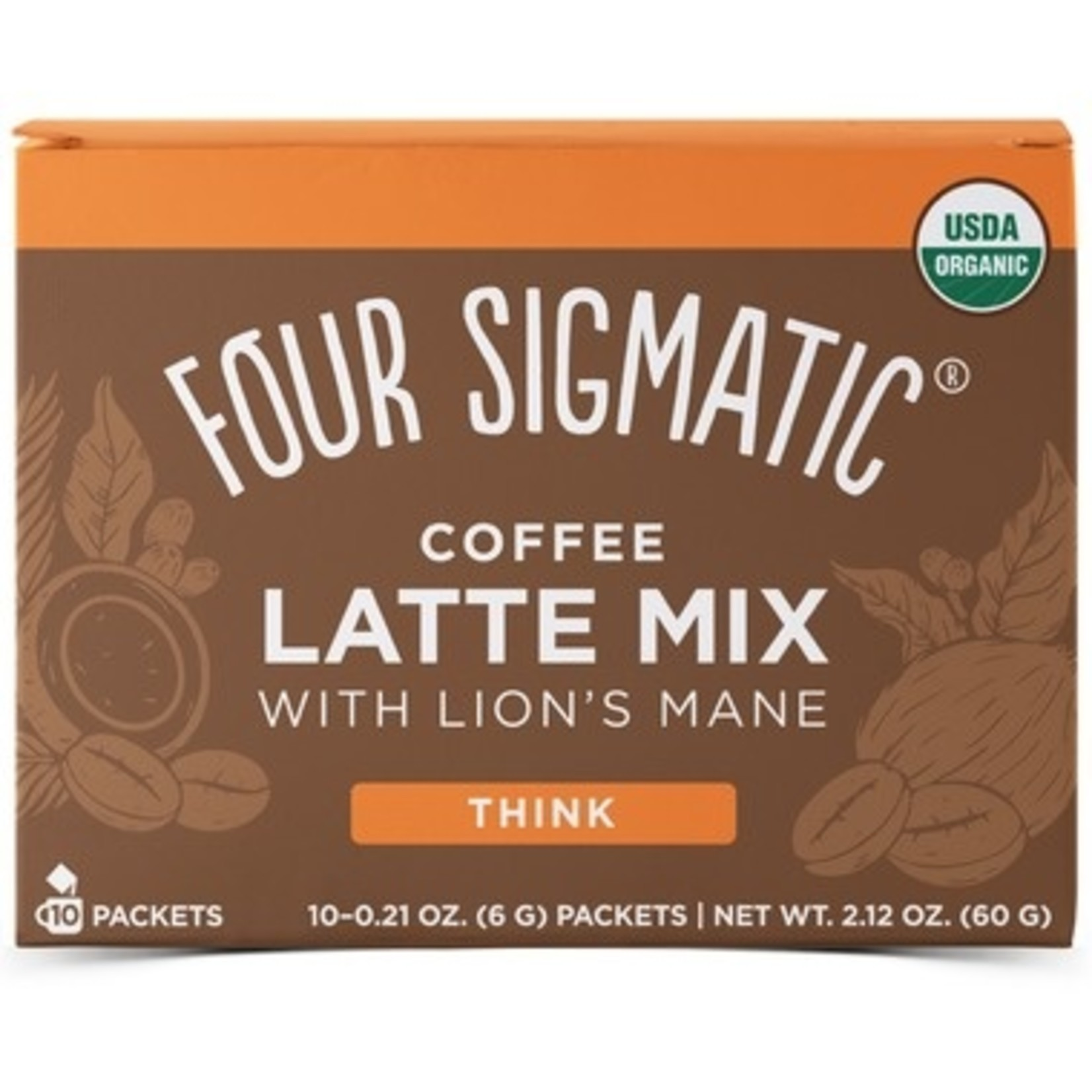 Four Sigmatic Coffee Latte Lion's Mane box of 10