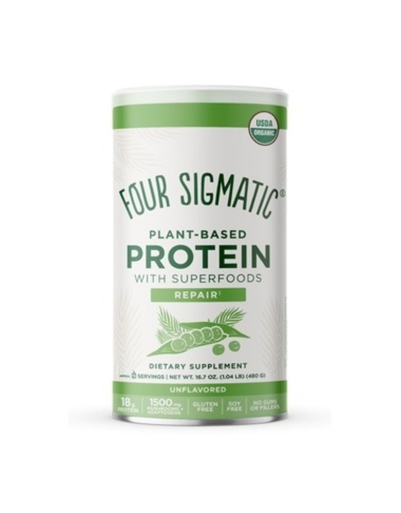 Four Sigmatic Plant Based Protein Unflavoured 480g