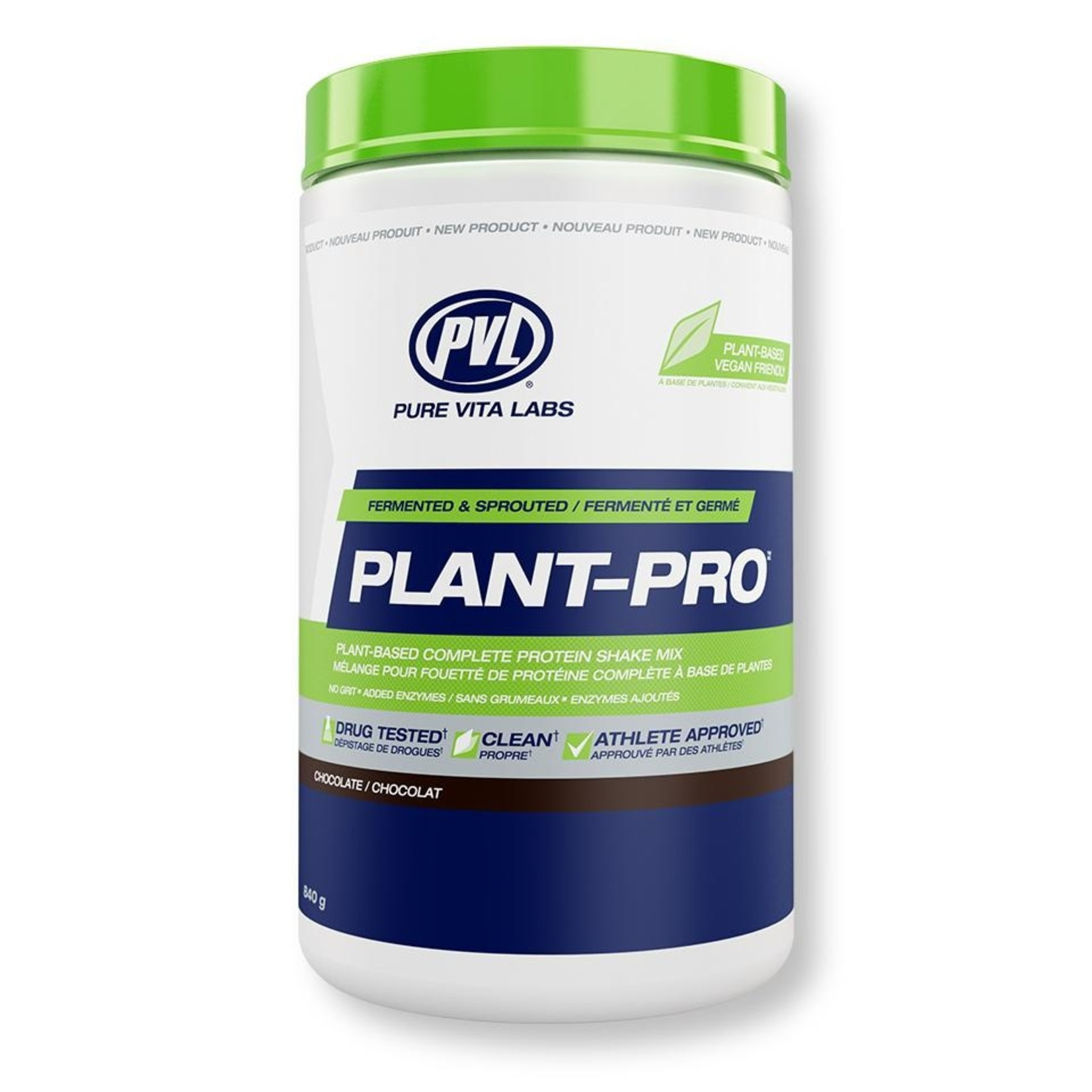 Pure Vita Labs Plant Pro Vegan Protein Chocolate 840g
