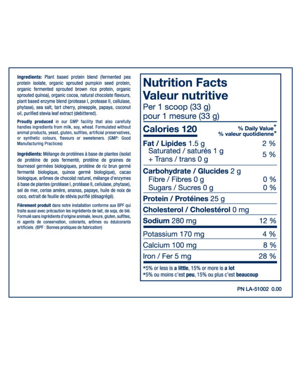 Plant Pro Vegan Protein Chocolate 840g