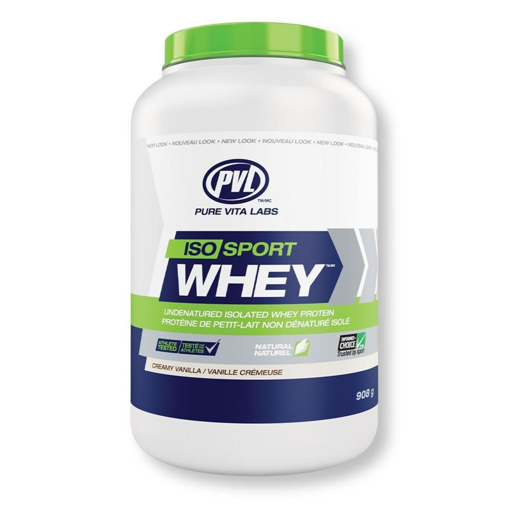 PVL PVL Iso Sport Whey Protein Creamy Vanilla 908g
