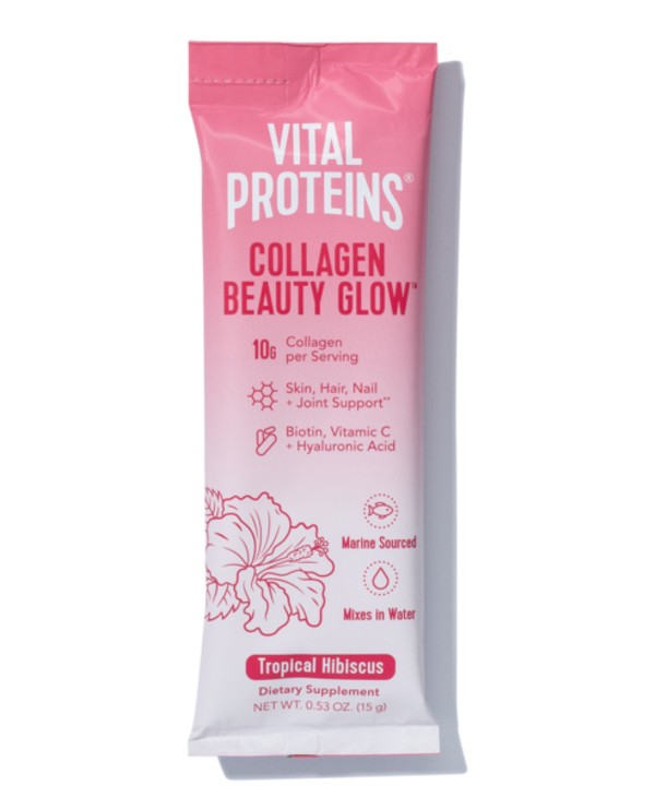 Vital Proteins Collagen Beauty Glow - Tropical Hibiscus Single