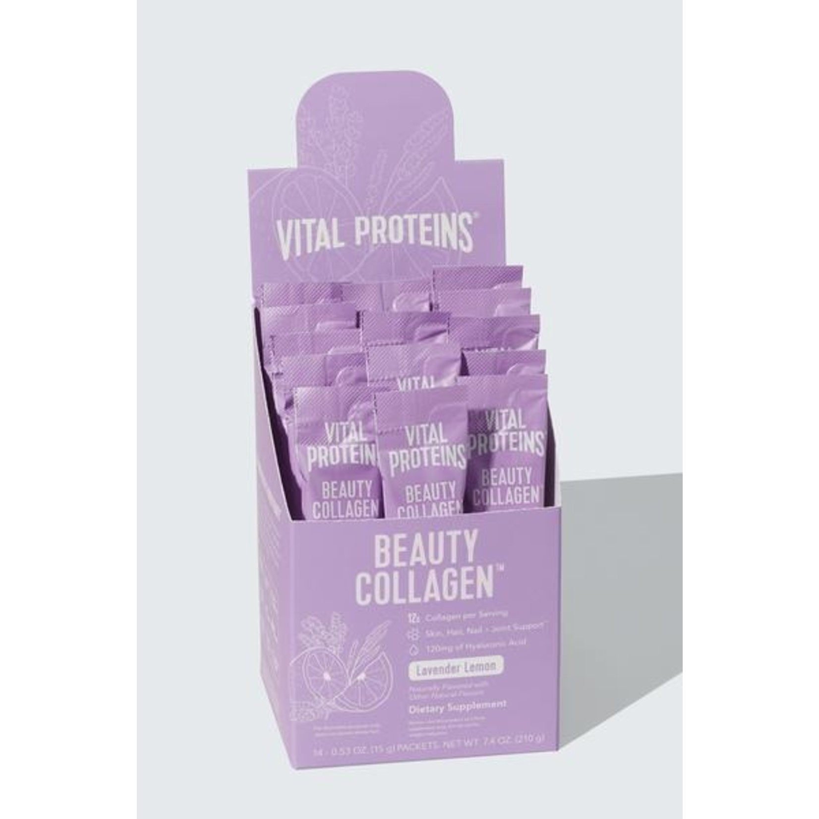 Vital Proteins Beauty Collagen Lavender Lemon Box