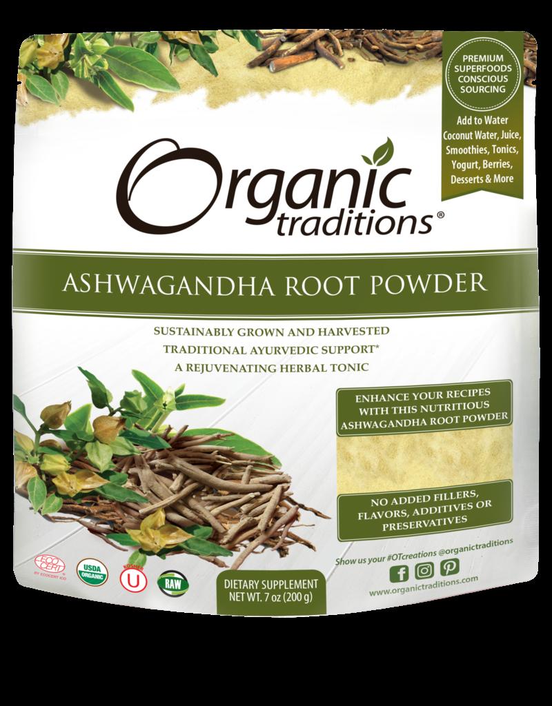 Organic Traditions Ashwagandha Root Powder 200g