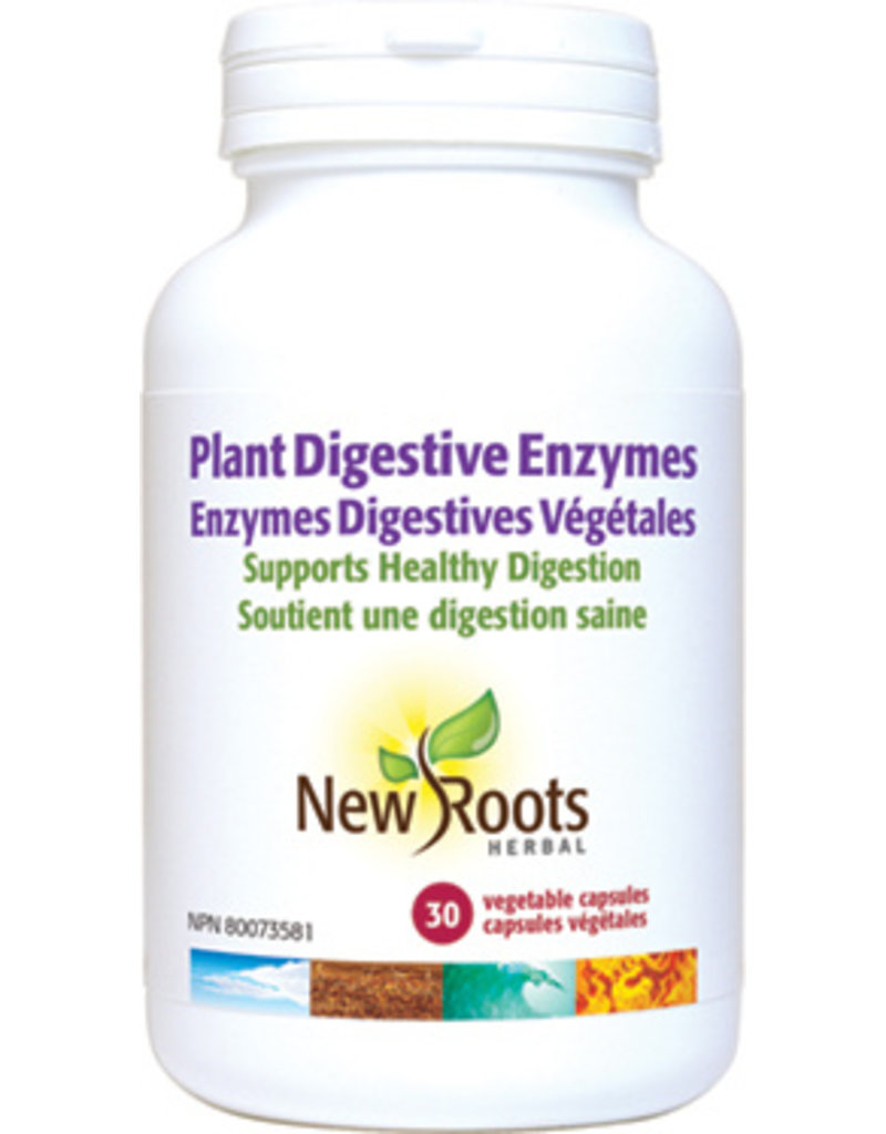 New Roots Plant Digestive Enzymes 120 caps