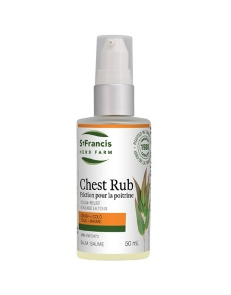 St Francis St Francis Chest Rub Cough Relief 50ml