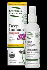 St Francis Deep Immune 100ml + FREE Hand Sanitizer