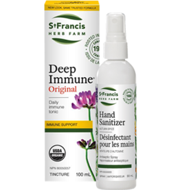 St Francis Deep Immune 100ml + FREE Hand Sanitizer