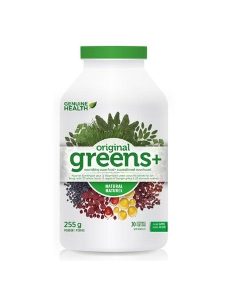 Genuine Health Greens+ Natural 255g