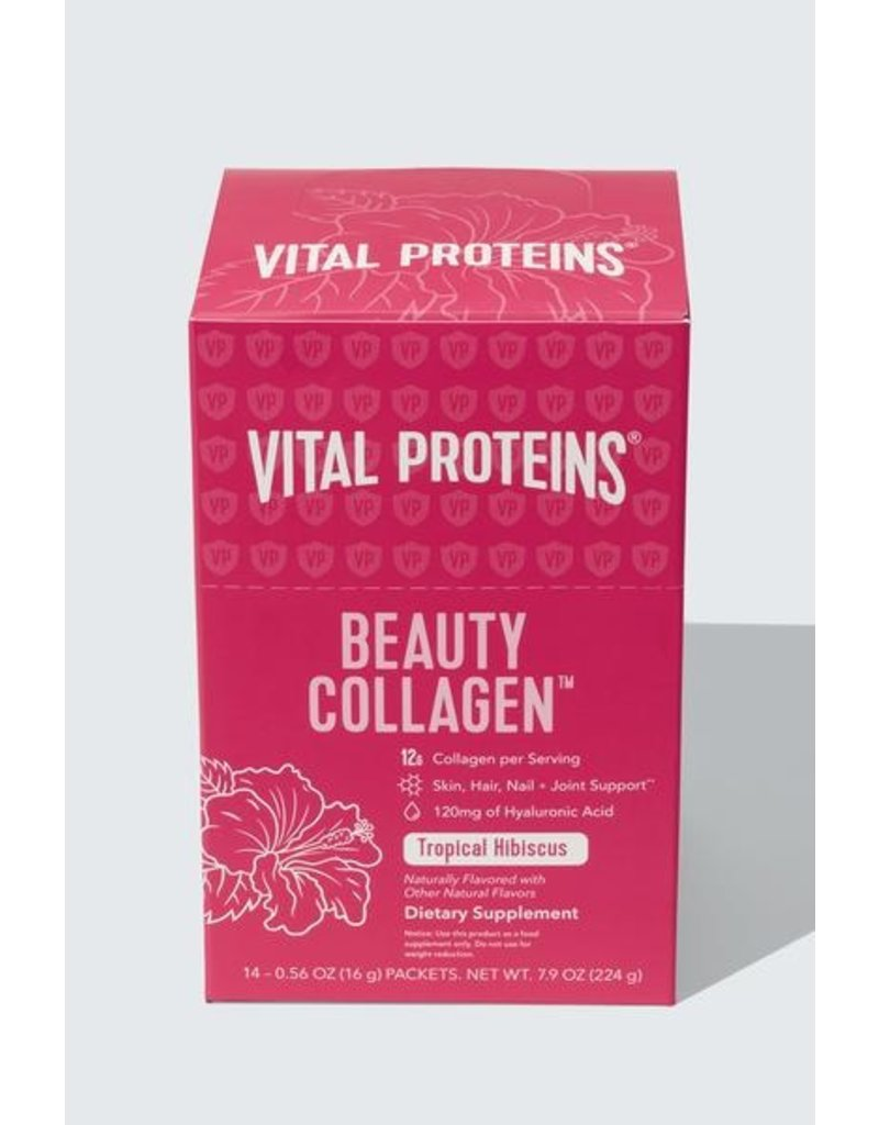 Vital Proteins Beauty Collagen Tropical Hibicus Box of 14