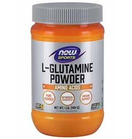 NOW NOW L-Glutamine 454g