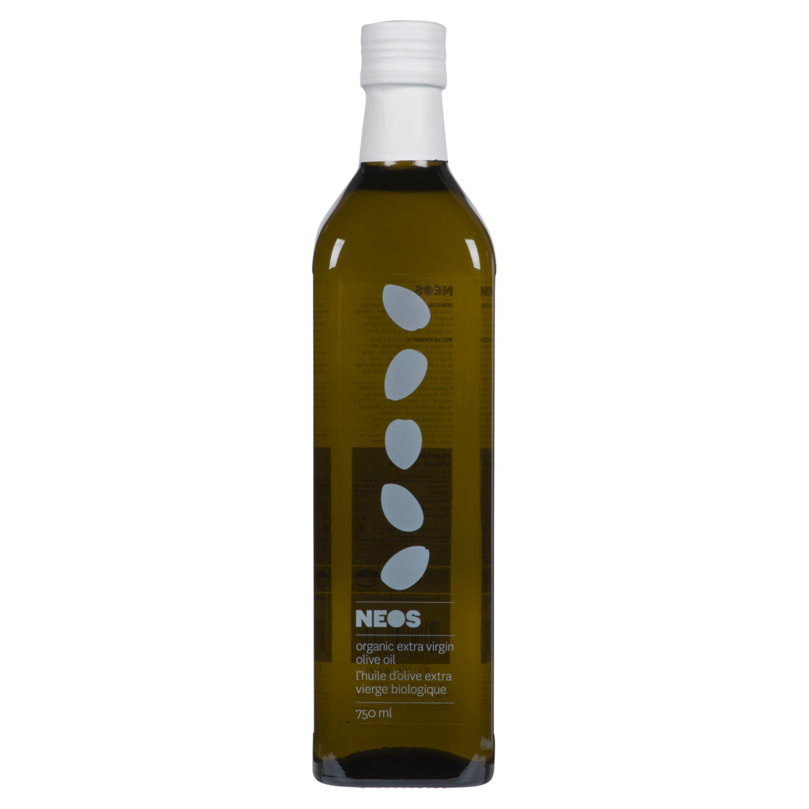Neos Organic Extra Virgin Olive Oil 750ml