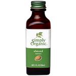 Simply Organic Oragnic Almond Extract 118ml