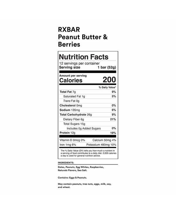Protein Bar Peanut Butter & Berries single
