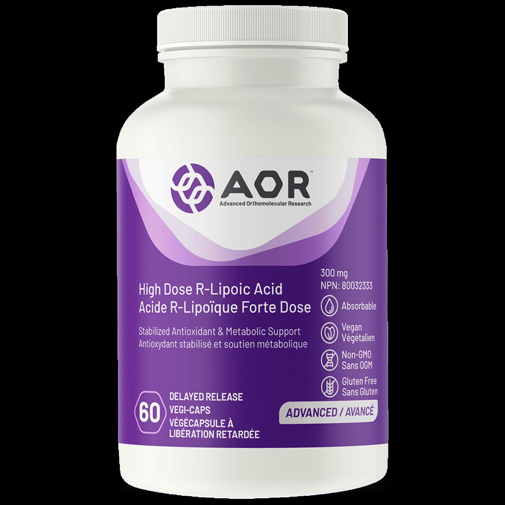 AOR AOR R-Lipoic Acid 90 vcaps