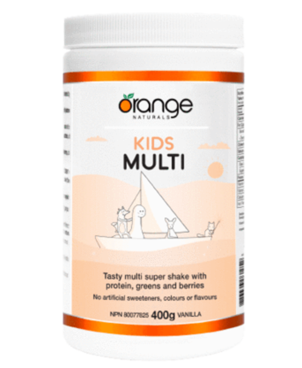 Kids Multivitamin with Proteins Greens and Berries 400g Vanilla