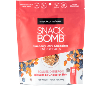 Snack Bomb Blueberry Dark Chocolate Energy Balls 200g