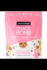 Snack Conscious Snack Bomb Peanut Butter Cherry Dark Chocolate Energy Balls 200g