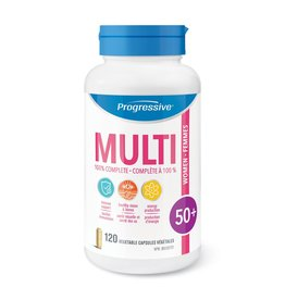 Progressive Multivitamin Women 50+ 120 caps