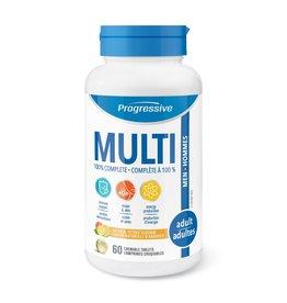 Progressive Multivitamin Adult Men 60 chewables