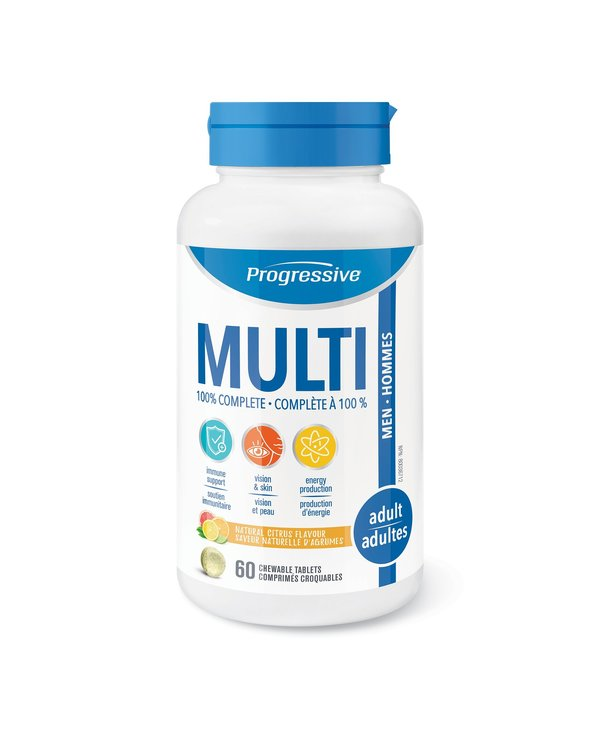 Multivitamin Adult Men 60 chewables