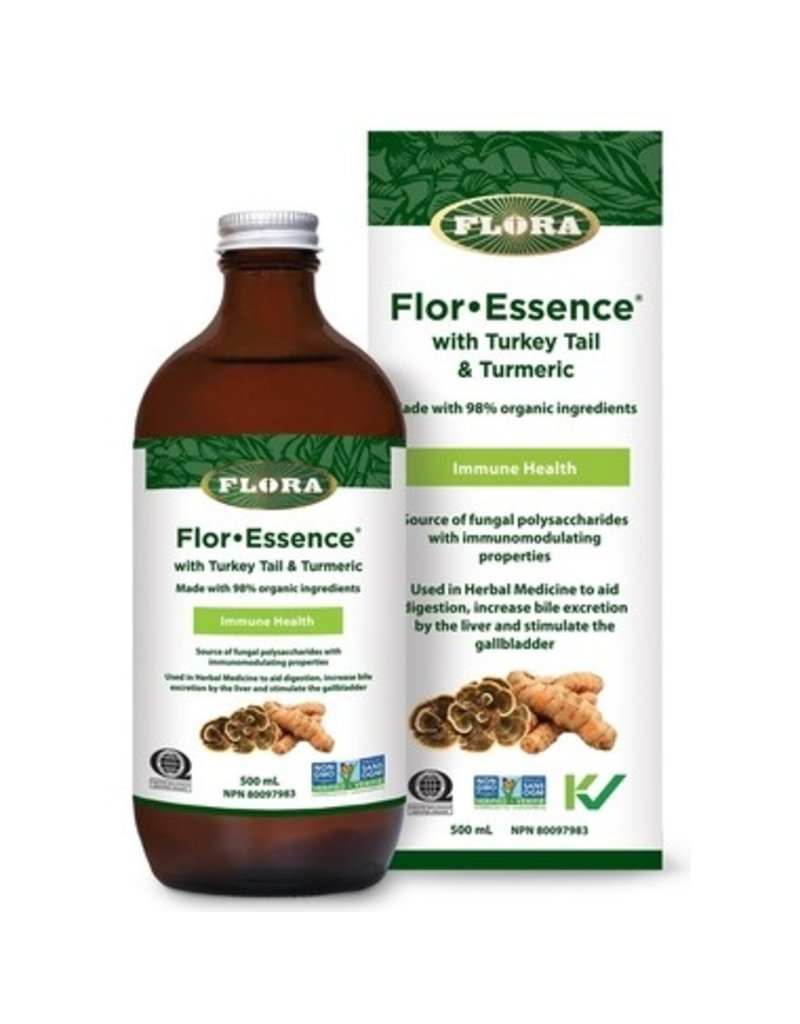 Flora Floressence with Turkey Tail and Turmeric