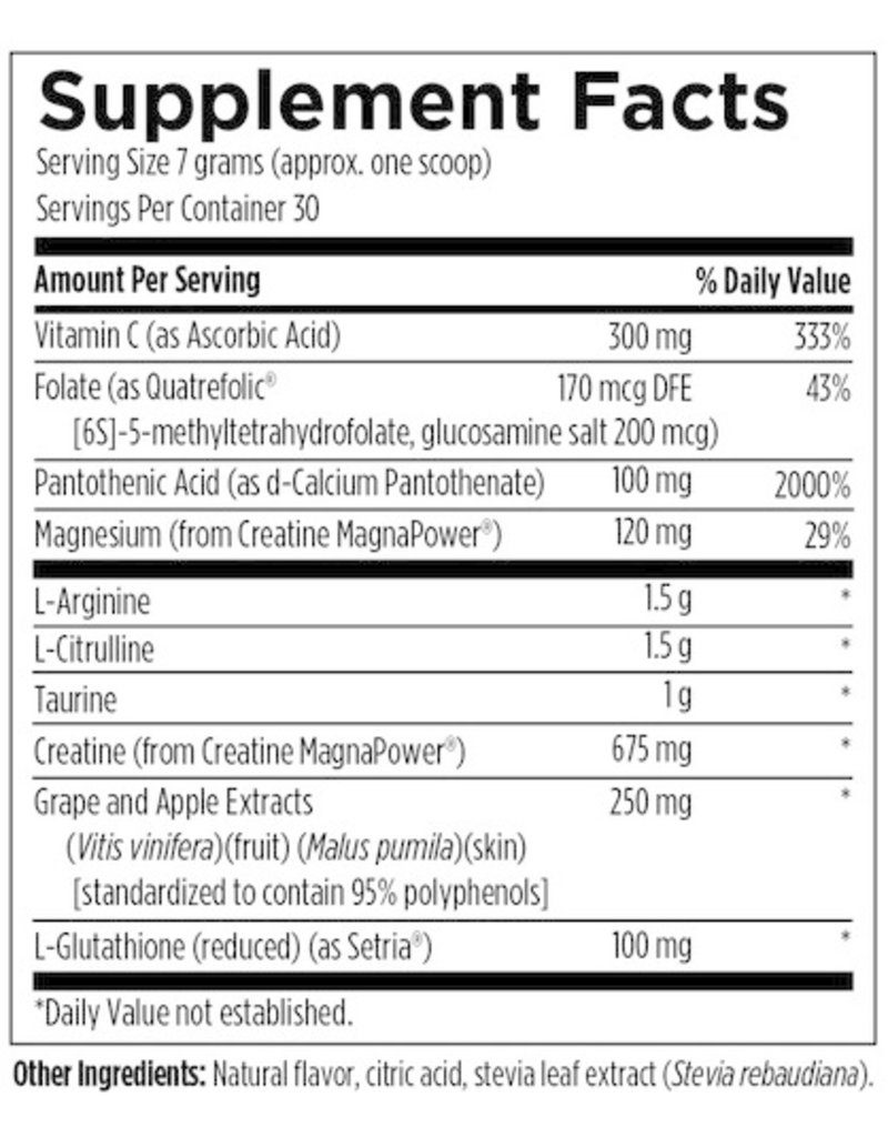 Designs for Health Nox Synergy Natural Berry Flavour 210g