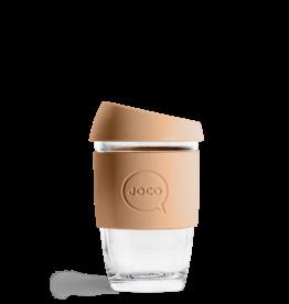 Joco Reusable Glass Cup Butterum 6oz