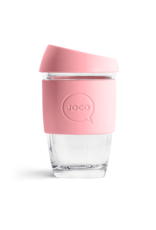 Joco Reusable Glass Cup Strawberry 6oz