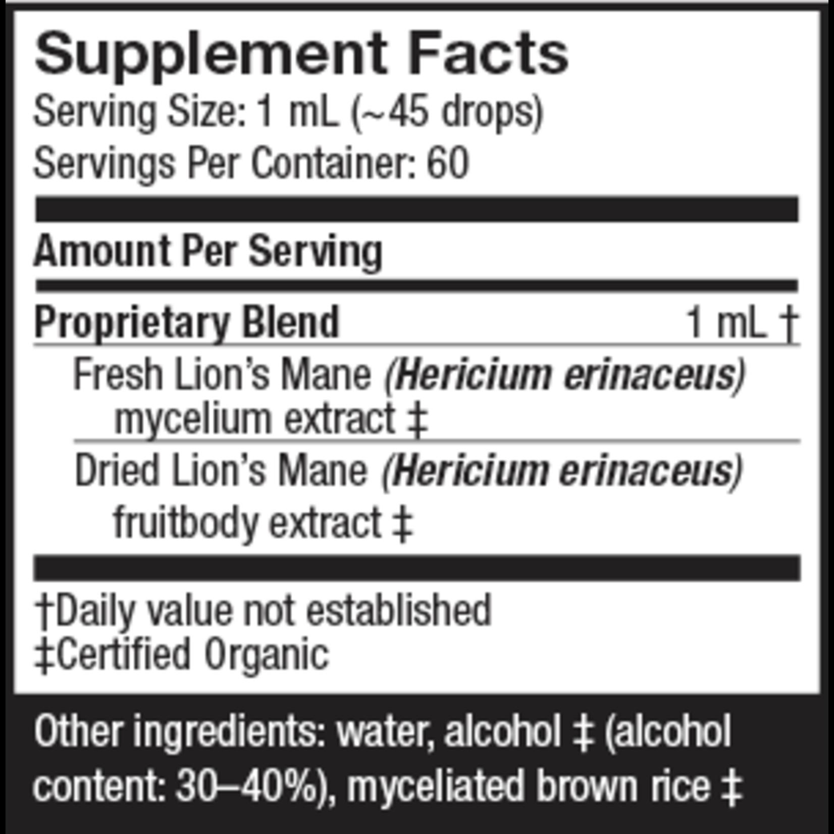 Host Defense Lion's Mane Extract 60ml